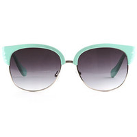 Mint Deco Wing Sunglasses