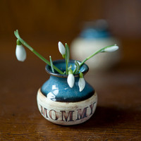 Mommy Flower Vase by juliaedean on Etsy