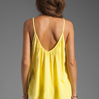 SAM&amp;LAVI Derant Tank in Light Yellow from REVOLVEclothing.com