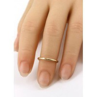 Single Band Midi Ring