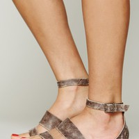 Free People Crowe Distressed Sandal