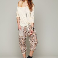 Free People Paisley Mixed Pant