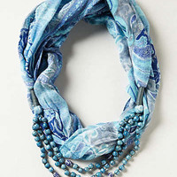 Anthropologie - Beaded Boteh Scarf