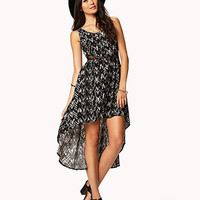 High-Low Ikat Dress | FOREVER 21 - 2042452287