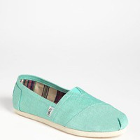 TOMS &#x27;Classic&#x27; Metallic Linen Slip-On (Women) | Nordstrom