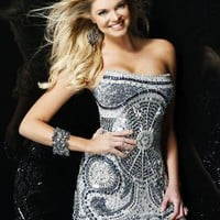 Sherri Hill Short Dress2537 at Prom Dress Shop