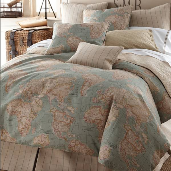 Legacy Home World Map Bedding by Legacy from The Home Decorating