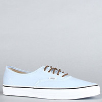 Vans Footwear The Authentic CA Sneaker in Powder Blue : Karmaloop.com - Global Concrete Culture