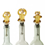 Three Wise Monkeys Bottle Stoppers (Set of 3)
