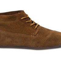 TOMS+ Brown Suede Men's Botas