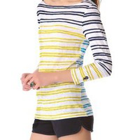 Tory Burch Striped Top | SHOPBOP