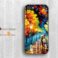 painting rain and tree iphone 5 cases Rubber case  Hard caseiphone 4 case iphone 5 cover the best iphone case unique design