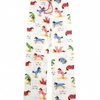 "Amazon.com: Hatley ""Bedtime Horses"" 100% Cotton Jersey PJ Pants: Clothing"