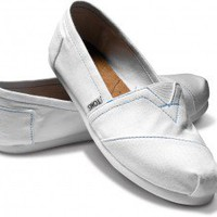 White Canvas Classics | TOMS.com