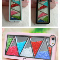 SakuraShop — Rainbow Color Swarovski Elements iPhone case