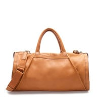 LEATHER BOWLING BAG - Bags - Man - ZARA United States