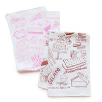Poketo Linen Tea Towel - Sweets