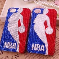 Unqiue NBA Rhinestone Case for iPhone4/4S
