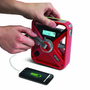 Hand Turbine Weather Alert Radio with Smartphone Charger