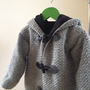 Crochet pattern duffel coat