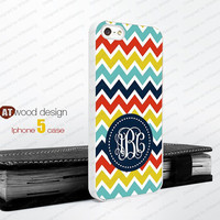 Monogram geometric  Iphone 5 case unique case Hard case Rubber case iphone 4 case colorized line red blue yellow colors