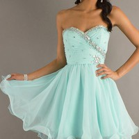 Cute Short Girl's Homecoming Party Cocktail Dress Evening Prom Dresses