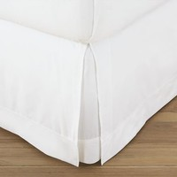 PB Organic 400-Thread-Count Bed Skirt