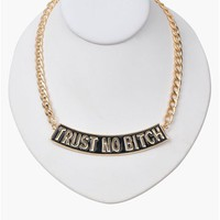 Trust Necklace - Gold
