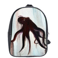 Octopus Backpack Golem by HeavenlyCreaturesArt on Etsy