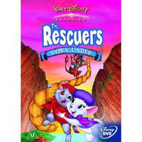 The Rescuers Down Under DVD