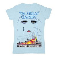 The Great Gatsby book cover t-shirt | Outofprintclothing.com