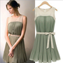 Hundred pleats dress