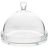 One Kings Lane - The Sweet Shop - Small Clear Glass Dome