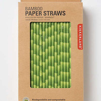 Anthropologie - Bamboo Paper Straws