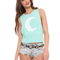 Hailey Moon Crop Tank - Tops - Clothes | GYPSY WARRIOR