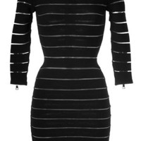 Balmain - Stretch Knit Dress in Black