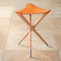 ColorStoryHome | Red Egg, Christopher Jagmin, Sivaana | fancy camp stool - orange hair - $495.00 : Color Story Home