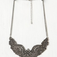 Free People Ornate Etched Collar