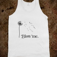 Blow me Dandelion Flower