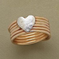 CROSS MY HEART RING         -                  Band         -                  Rings         -                  Jewelry                       | Robert Redford's Sundance Catalog