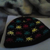 Space Invaders beanie (Med) from Wild Ivy