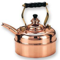 Old Dutch 3 Qt. Windsor Whistling Tea Kettle 530, Copper Kettles, Copperbrasstraditions