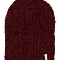 COAL THE THRIFT KNIT BEANIE - BURGUNDY