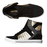 SUPRA SKYTOP HI SHOE - BLACK GREY GOLD