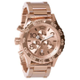 Nixon 42-20 Chrono Watch All Rose Gold, One Size