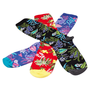 VANS BROLOHA CREW 3 PACK SOCKS - MULTI