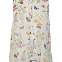 Butterfly Sleeveless Shirt