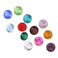 Set of 12 Swarovski Crystal Birthston...