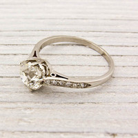 1.55 Carat Tiffany &amp; Co. Antique Engagement Ring | Shop | Erstwhile Jewelry Co.