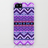 Purple #2 iPhone &amp; iPod Case by Ornaart